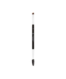 BROW BRUSH-DUO SYNTHETIC LARGE #12