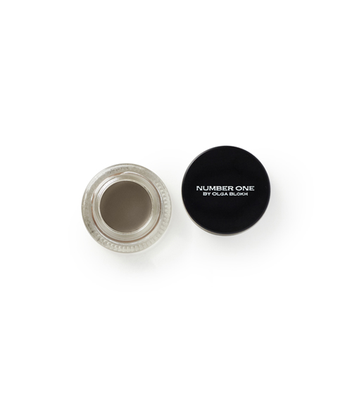 NUMBER ONE RICH BROW POMADE MEDIUM BROWN